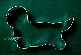 Dandie Dinmont Cookie Cutter