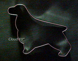 English Springer Spaniel Cookie Cutter