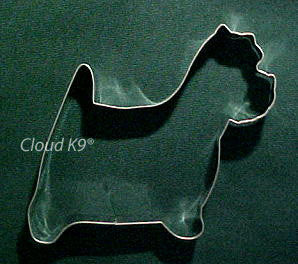 Westie Cookie Cutter