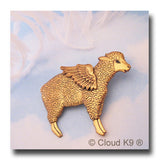 Sheep Angel Pin Sympathy Gift
