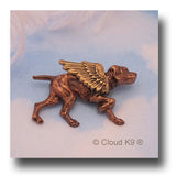 Vizsla Angel Dog Pin Sympathy Gift