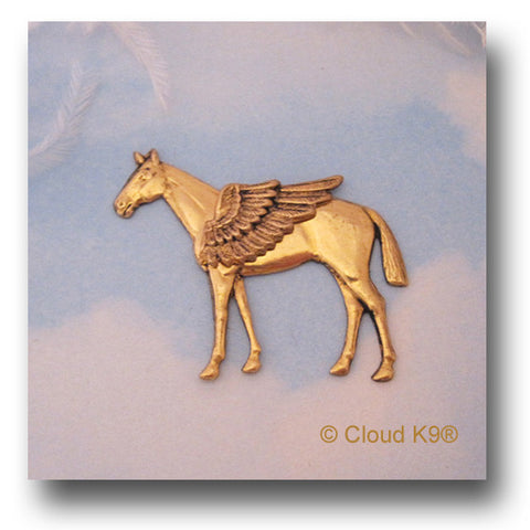 Winged Horse Angel Pin Jewelry