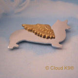 Welsh Corgi Angel Dog Memorial Jewelry