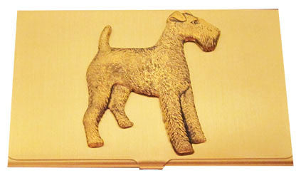Wire Fox Terrier Business Card Case