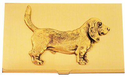 Basset Hound Business Card Case
