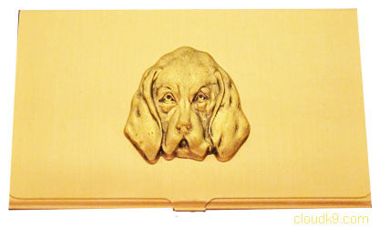 Bloodhound Business Card Case