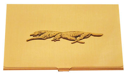 Borzoi (Racing) Business Card Case