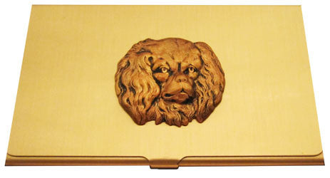 King Charles Spaniel Business Card Case