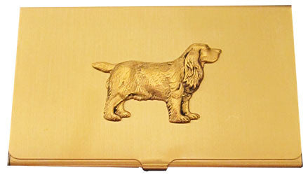 English Cocker Spaniel Business Card Case