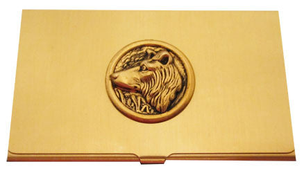 Collie Business Card Case