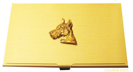 Great Dane Business Card Case