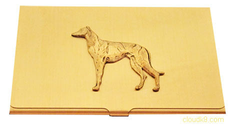Whippet (Standing) Business Card Case