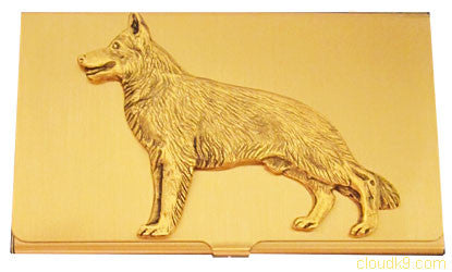 German Shepherd Business Card Case