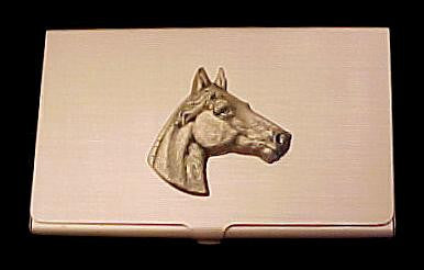 Horse Business Card Case