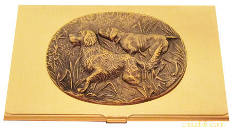 Golden Retriever (Hunt Scene) Business Card Case