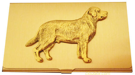 Labrador Retriever Business Card Case (Yellow Lab)