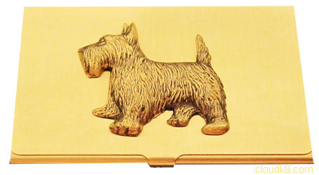 Scottie Business Card Case