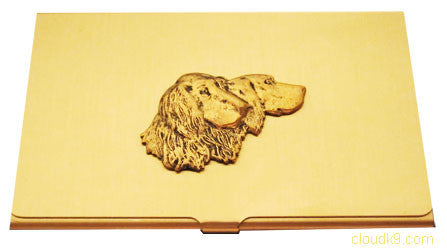 English Setter Business Card Case