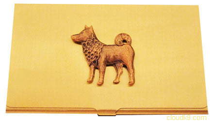 Shiba Inu Business Card Case