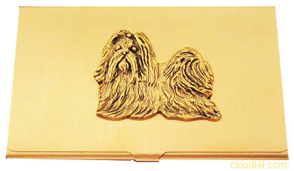 Shih Tzu Business Card Case