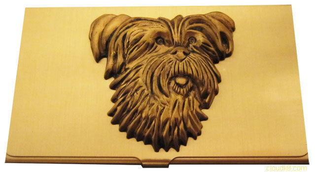 Skye Terrier Business Card Case