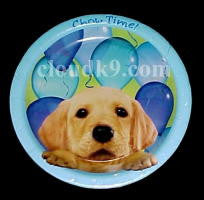 "Dog Party Paper Plates (Large=9"")"