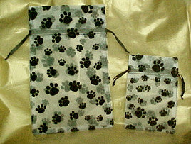 Paw Prints Cloth Gifts Bags