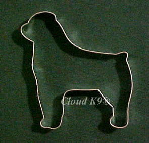Rottweiler Cookie Cutter