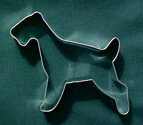 Airedale Terrier Cookie Cutter