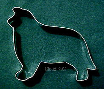Border Collie Cookie Cutter