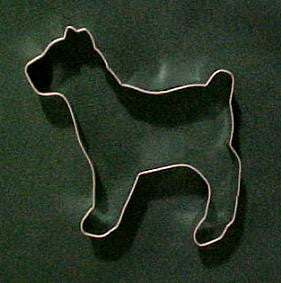 Boxer Cookie Cutter
