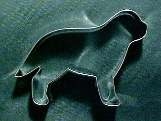 Mastiff Cookie Cutter