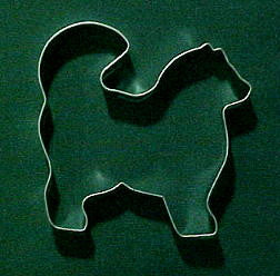 Snow Dog Cookie Cutter