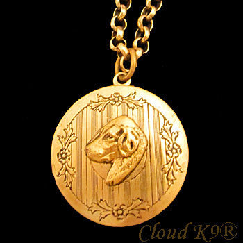 Labrador Retriever (Yellow Lab) Locket Necklace