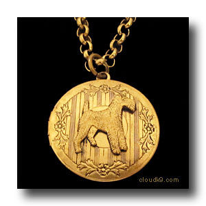 Irish Terrier Locket Necklace
