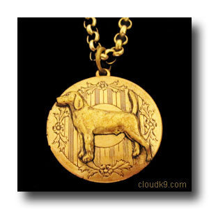 Beagle Locket Necklace
