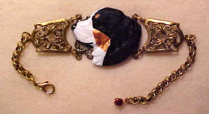 Bernese Mountain Dog Bracelet (Handpainted)