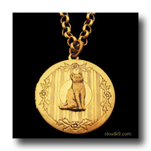 Cat Locket Necklace (Short Haired Cat)