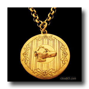 Italian Greyhound Locket Necklace