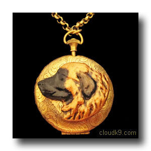 Leonberger Locket Necklace (LARGE Locket)