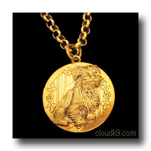 Norfolk Terrier Locket Necklace