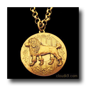 Poodle Locket Necklace