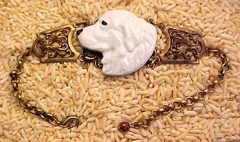 Great  Pyrenees Bracelet (Handpainted)