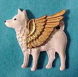 American Eskimo Dog Angel Pin Sympathy Gifts
