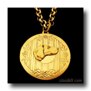 Weimaraner Locket Necklace