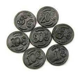 Coins Black [100g] - All Sweets and Treats
