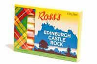 Ross's Edinburgh Castle Rock Gift Box [135g]
