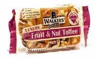 Andypack Tray Toffee - Fruit & Nut UK Sweets - All Sweets and Treats