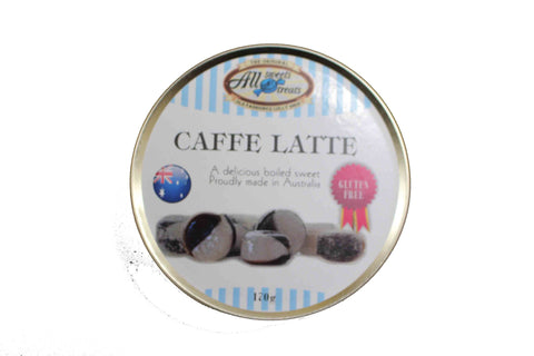 Travel Tins - Caffe Latte [170g tin] - All Sweets and Treats