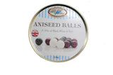 Travel Tins - Aniseed Balls [170g tin] - All Sweets and Treats